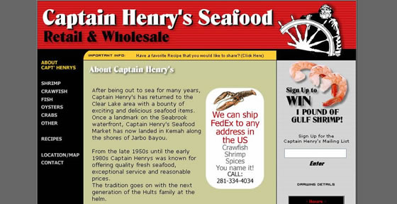 Captain Henry's Seafood Market